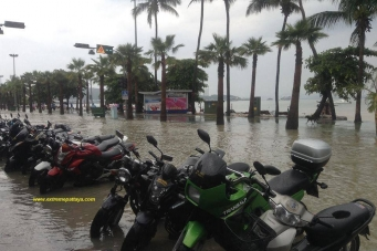 Pattaya Rain and Flash Flooding
