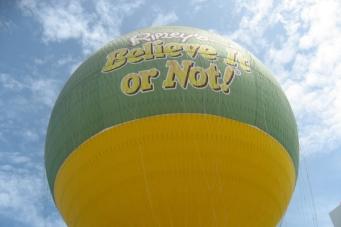 Выше в небо на воздушном шаре