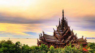 Храм Истины в Паттайе (Святилище Истины, Ванг Боран, Прасат Май)