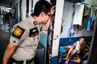 Сократить срок: тюремные бои в фотографиях Аарона Джоэла Сантоса