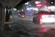 Thailand Tropical Storm