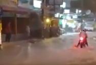 Крутое наводнение в Паттайе