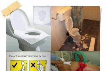 ใครที่เข้าห้องน้ำสาธารณะหรือที่ห้างชอบขึ้นเหยี่ยบบนโถโปรดอ่าน (อาจจะสยองนิดนึง)