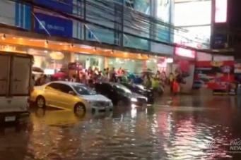 Наводнения в Паттайе