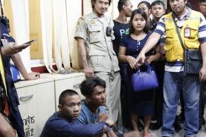 Арестованы похитители сумок в Паттайе