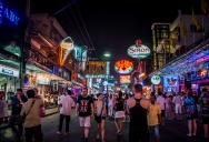 Pattaya road to Walking Street (Тук Тук ЙО)