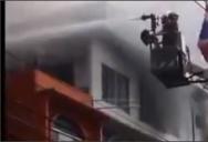 Пожар в Паттайе, рядом с Волкин Стрит (Walking Street).
