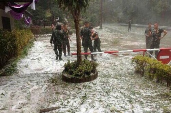 Снег в Тайланде