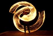 Fire show на острове Пи-Пи