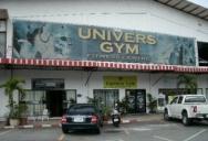 Universe gym - настоящая тренажерка в Паттайе