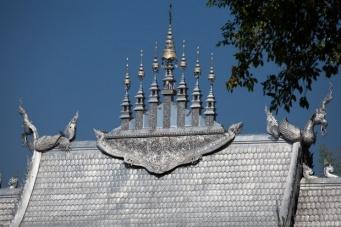 Wat Sri Suphan – храм из серебра