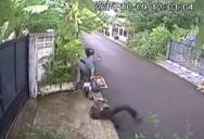 Как грабят сумки в Паттайе