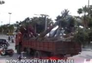 Счастливый день начальника Паттайской полиции