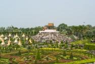 В парке Nong Nooch Tropical Garden - Французский Сад