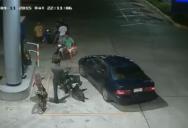 Нападение на полицейского ( Таиланд )