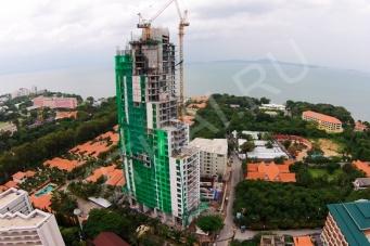 The Peak Towers - фото строительства