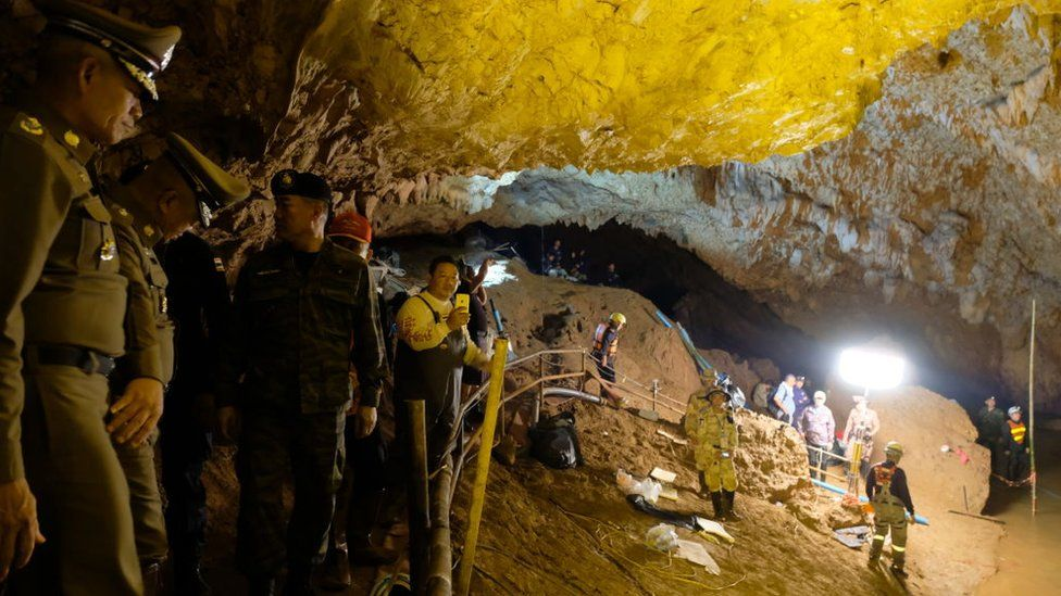 Пещера в Таиланде после операции по спасению школьников откроется не раньше, чем через год