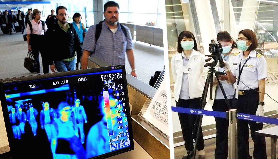 Из-за атипичной пневмонии туристов при въезде в Таиланд стали досматривать через сканеры