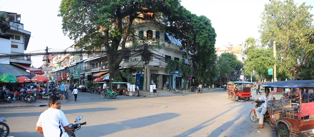 Камбоджа Пномпень. Часть 1