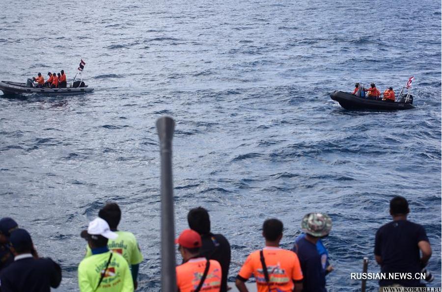 Затонувшее в Таиланде судно «Феникс» с телами туристов поднимут на поверхность