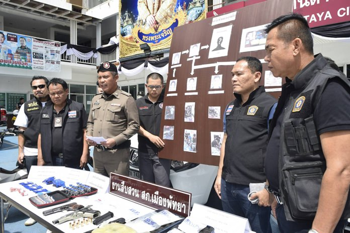 В Паттайе арестована банда, снабжавшая туристов метамфетамином