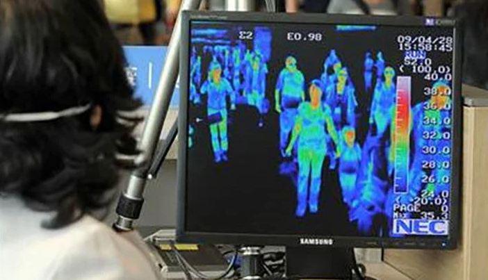 """В Таиланде появится """"супер-сканер"""" лица, показывающий температуру людей"""