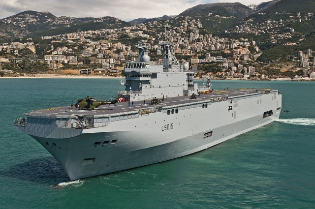 Китай построит для Таиланда десантный вертолётоносный корабль-док
