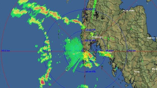 На Пхукете выпущено новое метеорологическое предупреждение