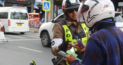 С 19 декабря в Таиланде начинает действовать балльная система штрафов за нарушения ПДД
