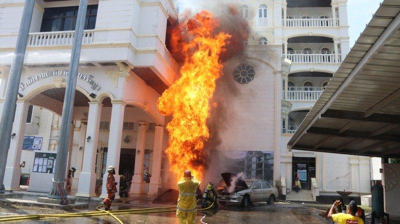 Должностные лица Пхукета занимаются вопросами пожарной безопасности