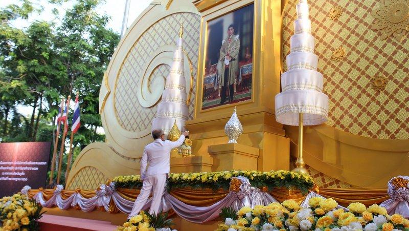 На Пхукете состоялись праздничные церемонии в честь дня рождения Его Величества Короля