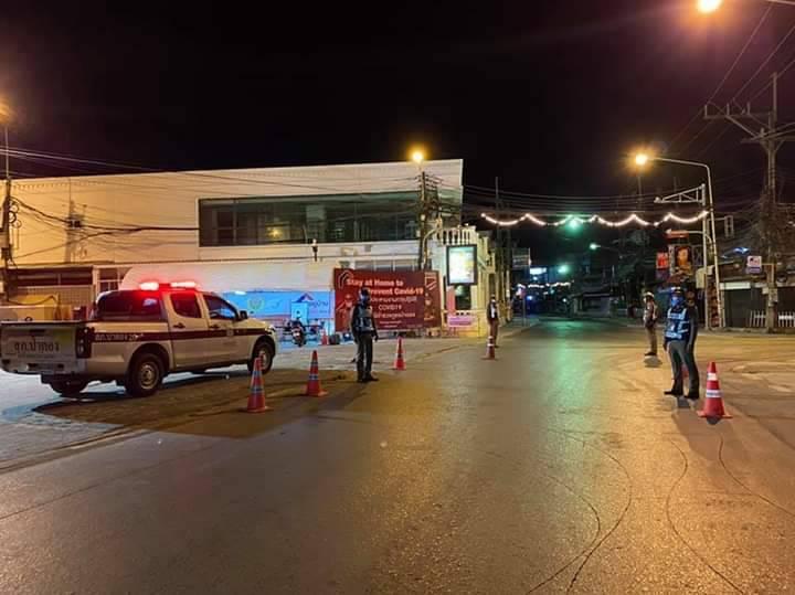 На Пхукете начали задерживать нарушителей комендантского часа