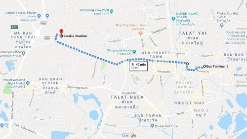 Движение в Пхукет-Тауне ограничат из-за проведения спортивного парада 23 июля