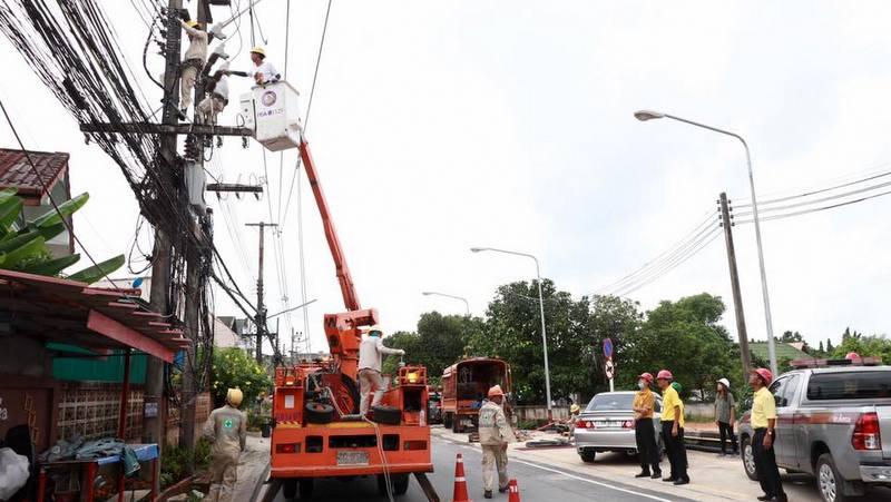 Отключение электричества запланировано в Саку в Таланге 9 июля