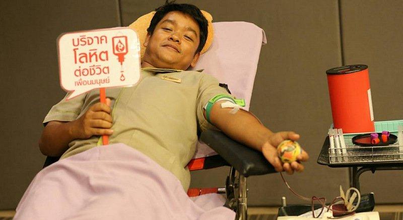 Красный крест Пхукета приглашает доноров крови
