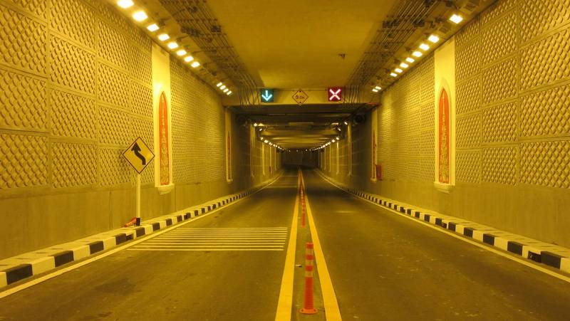 Тоннель Чалонг-Раваи будут закрывать на ночь