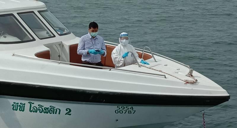 Пхукет принял три яхты из-за рубежа