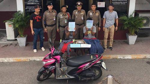 Полиция Чалонга арестовала двоих граждан Таиланда, ограбивших туристку из Китая в Раваи