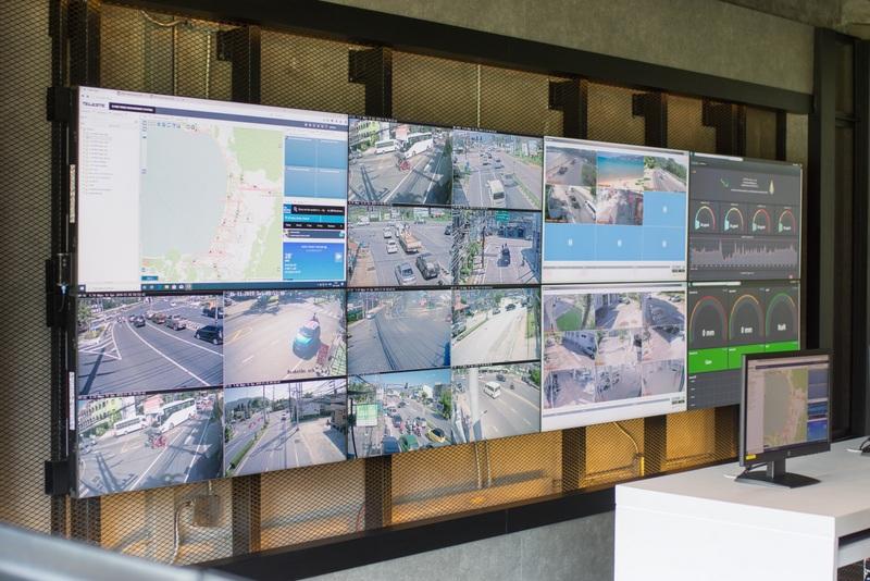 37 новых камер уличного видеонаблюдения установили в Патонге