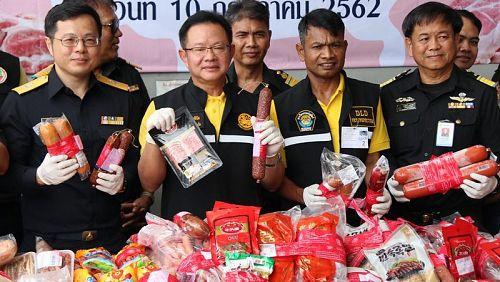 В Таиланд возможно проникновение африканской чумы свиней