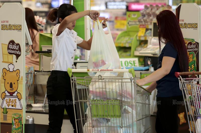 Ведущие ритейлеры Таиланда отказались от использования одноразовых пакетов