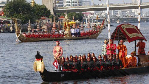 Процессия Королевских барж перенесена на 12 декабря