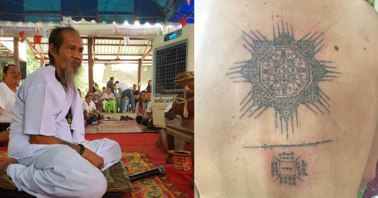 Как сделать Сак Янт — магические татуировки в Таиланде