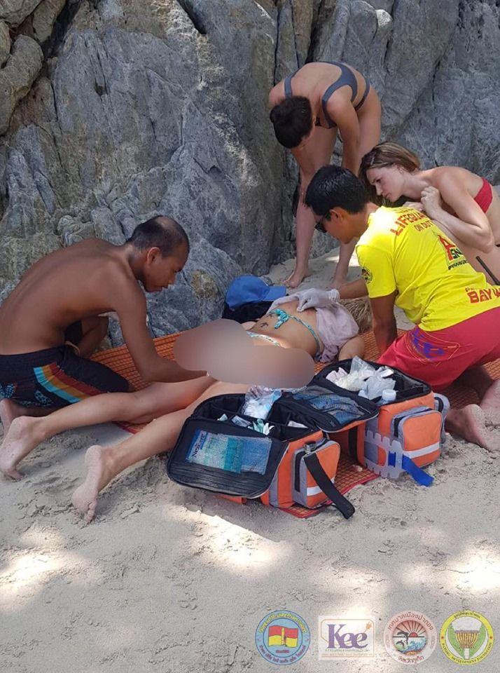 Россиянка упала со скалы на пляже Патонг