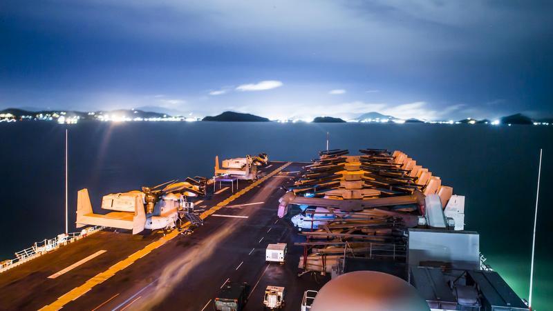 Моряки ВМФ США посетили Пхукет после проведения учений в Андаманском море