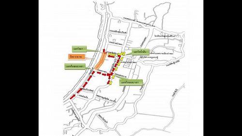 В Патонге изменится схема движения на время проведения работ на пляжной дороге