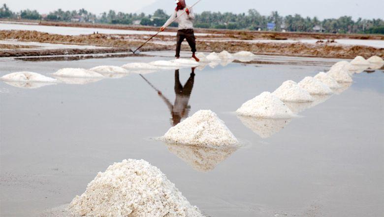 В Камбодже объем производства соли в этом году падает