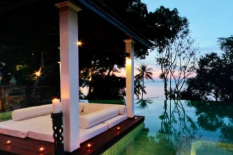 Villa Riva Sunset Infinity Pool in Bang Por Koh Samui