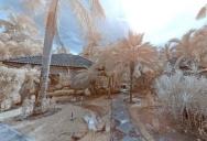 Tropical Garden in Infrared - Baan Suan Siriwan
