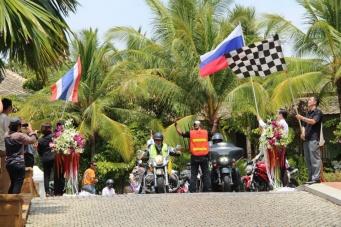Байкеры из России покоряют Таиланд